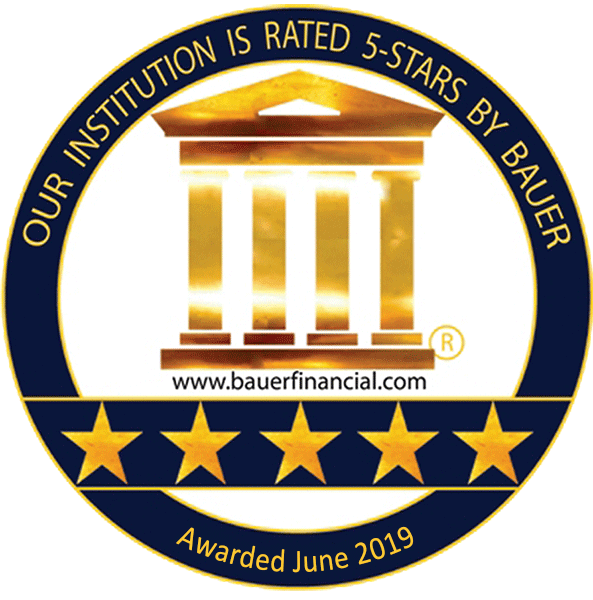 5 Star Bauer Financial Inc. rating
